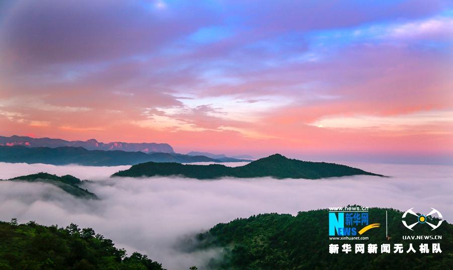 """【""""飞阅""""中国】甘肃两当:云从山涧起 山以云作衣"""