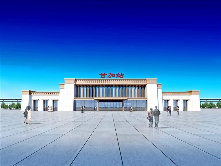 西成铁路沿线11座站房概念图出炉