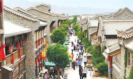 丹霞山口石头城