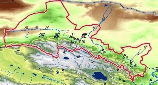 河西走廊对中国来说,到底有多重要