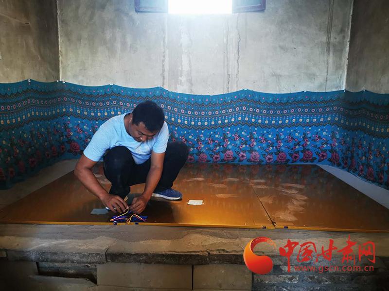 瓜州:农村清洁能源项目开工