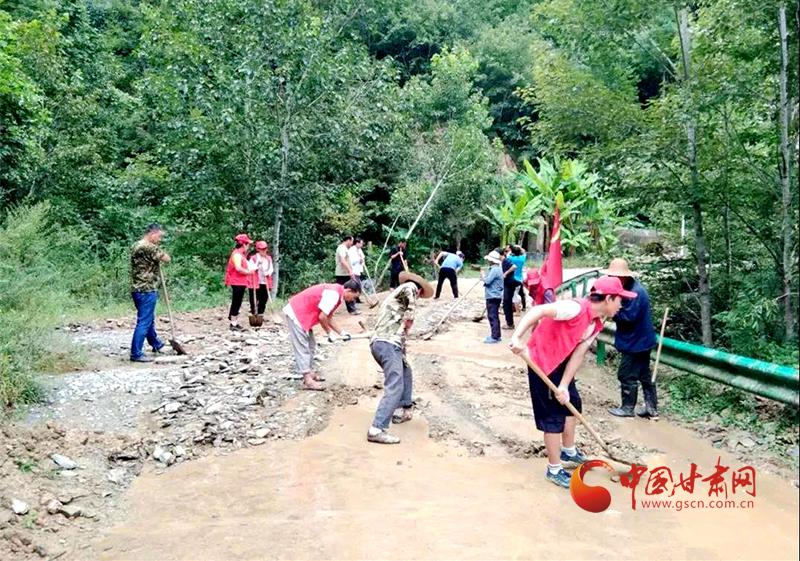 康县:众志成城,全面打响抗洪救灾攻坚战