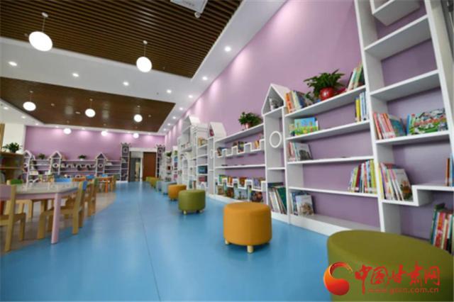 兰州新区图书馆投入试运行 填补区域空白推进全民阅读