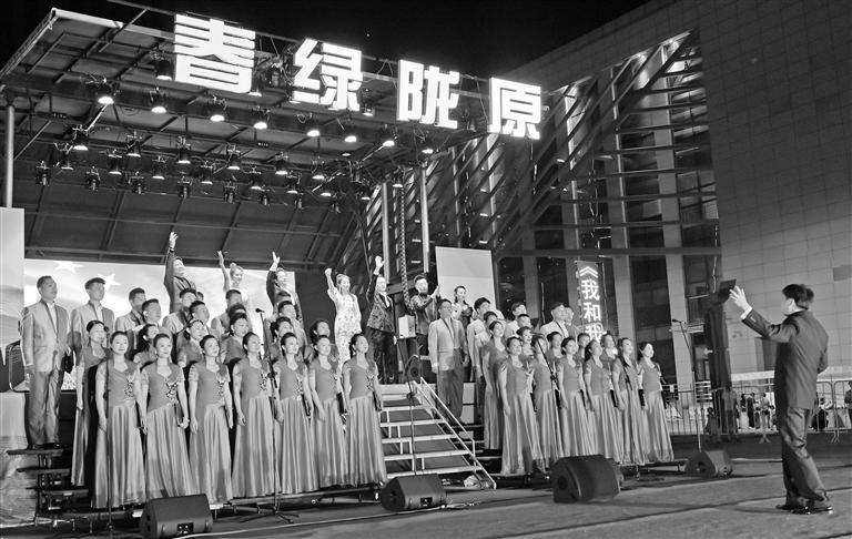 黄河之滨掀起《国风新潮》 中央民族乐团文化帮扶慰问演出醉了金城观众