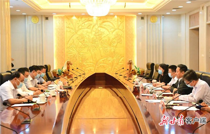 《无极五平台注册登录_唐仁健在京拜会交通运输部部长李小鹏》