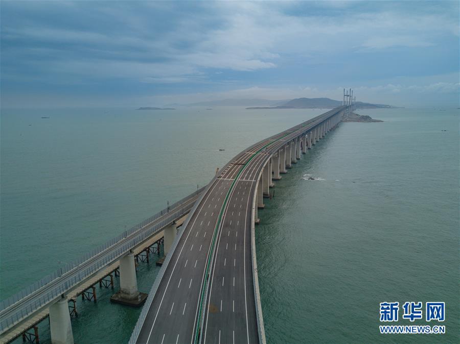 (经济)(3)平潭海峡公铁两用大桥即将完成静态验收