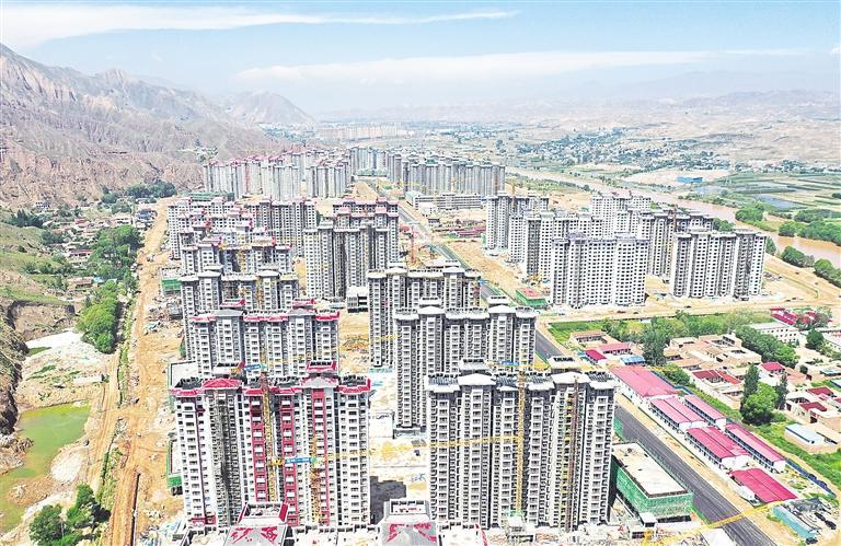 临夏州沿洮河经济带东乡达板段建设进展顺利