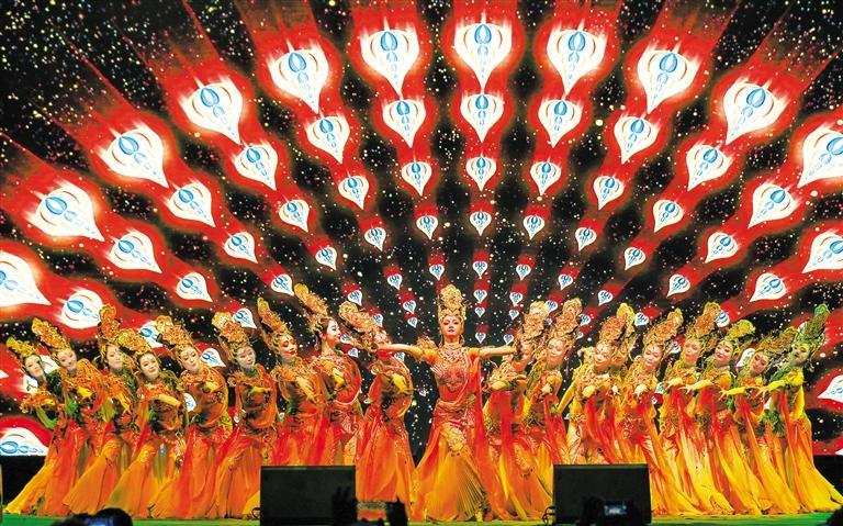 黄河之滨艺术节主场地演出圆满落幕 分会场演出将持续到9月13日结束