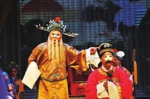 陇剧《假婿乘龙》亮相黄河之滨艺术节分会场