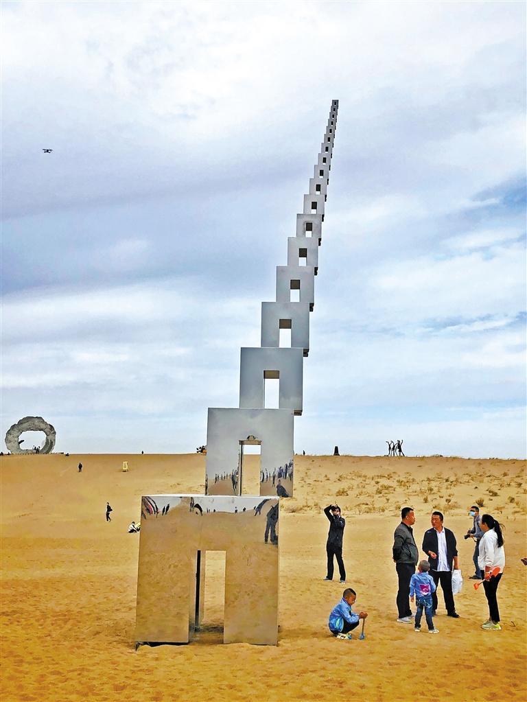 沙漠雕塑震撼!