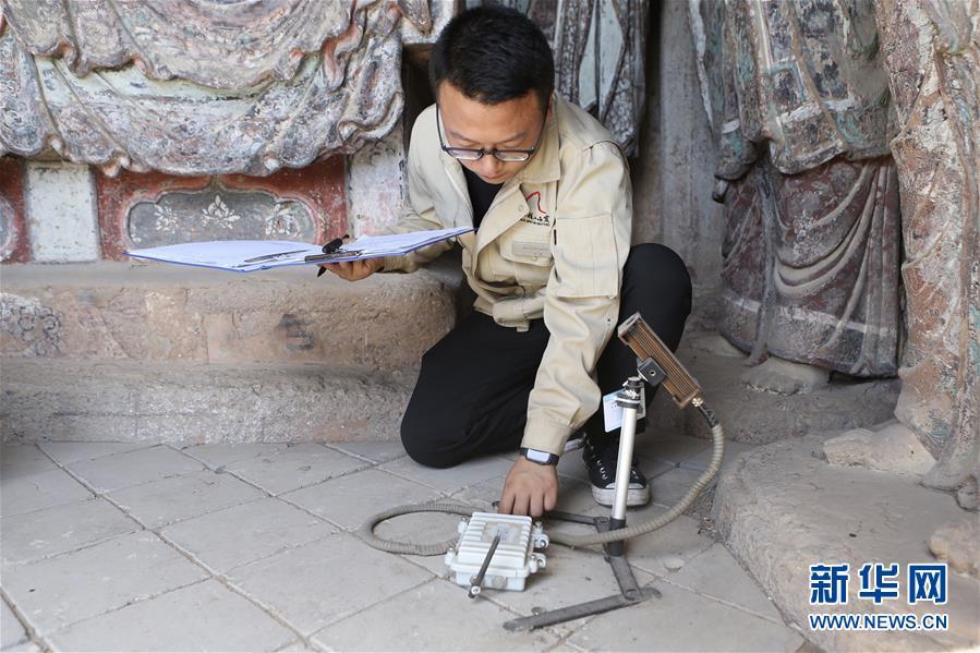 (社会)(1)预防监测系统守护千年麦积石窟