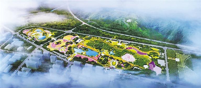 """兰州植物园新建7个主题园区""""亮妆"""""""