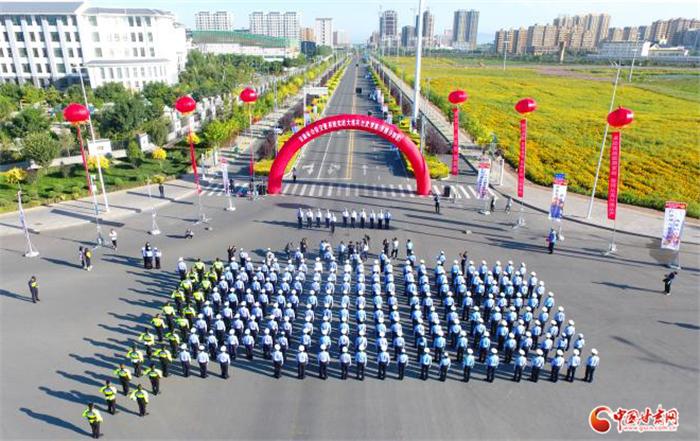 甘肃公安交警系统实战大练兵比武竞赛张掖赛区开赛(视频)
