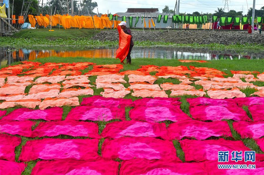 (国际)(2)孟加拉国:手工布匹印染作坊