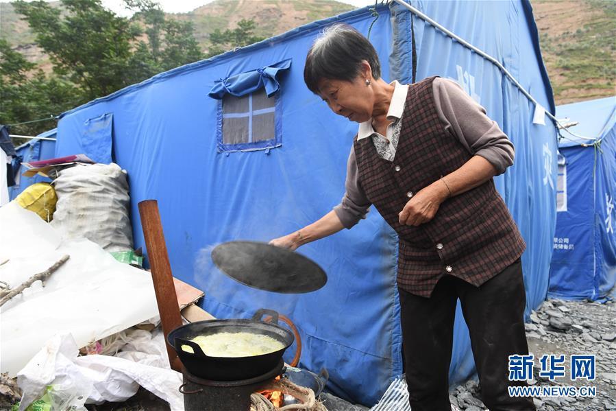 (社会)(2)甘肃陇南:受灾群众灾后生活有保障