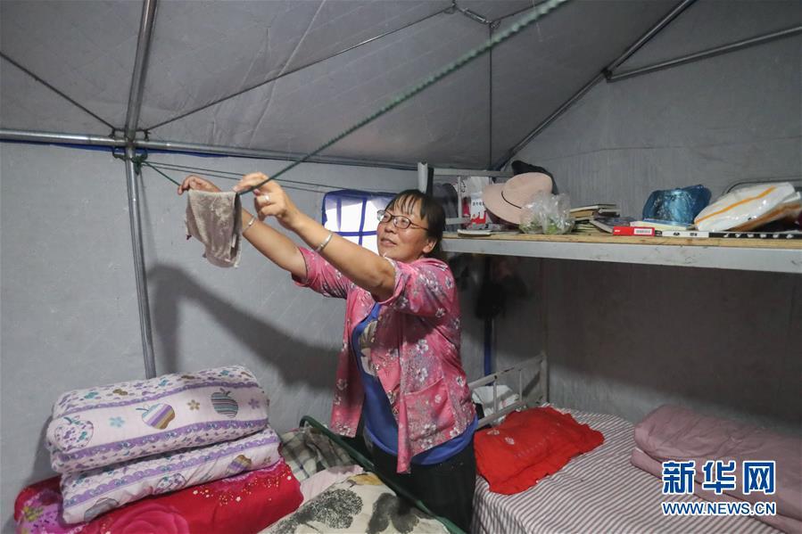(社会)(4)甘肃陇南:受灾群众灾后生活有保障