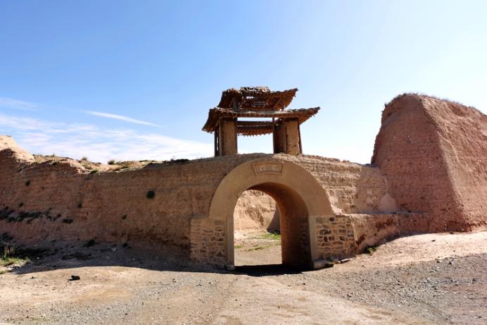 白银永泰古城:西北戈壁上的军事古堡