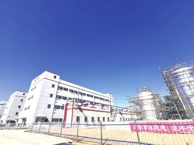 秦王川:一座绿色化工产业园正在崛起
