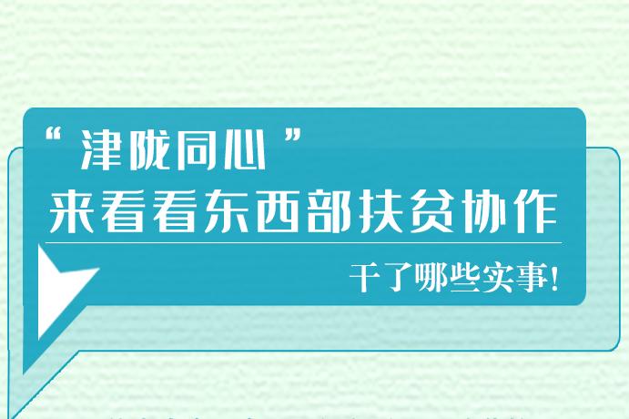 长图|东西部扶贫协作,天津做了哪些实事?