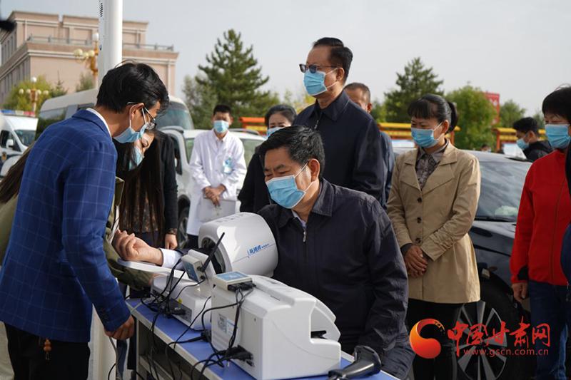 """以数字赋能基层医疗——天津对口支援古浪""""互联网+健康扶贫""""结硕果"""