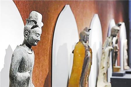 """""""东方微笑""""再现千年之美 ——麦积山石窟艺术展亮相常州博物馆"""