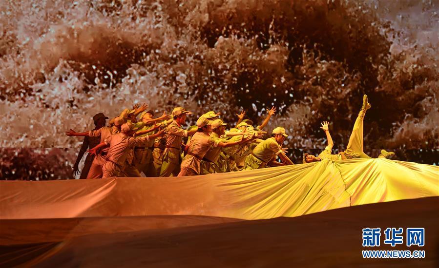 (西藏昌都解放70周年)(2)庆祝昌都解放70周年专场文艺晚会在昌都举行