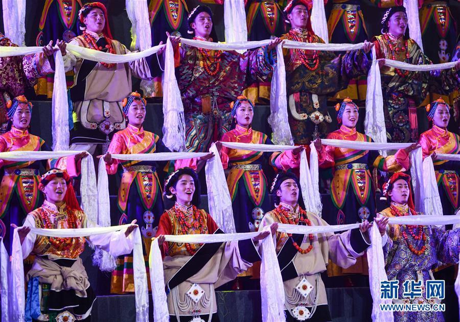 (西藏昌都解放70周年)(3)庆祝昌都解放70周年专场文艺晚会在昌都举行