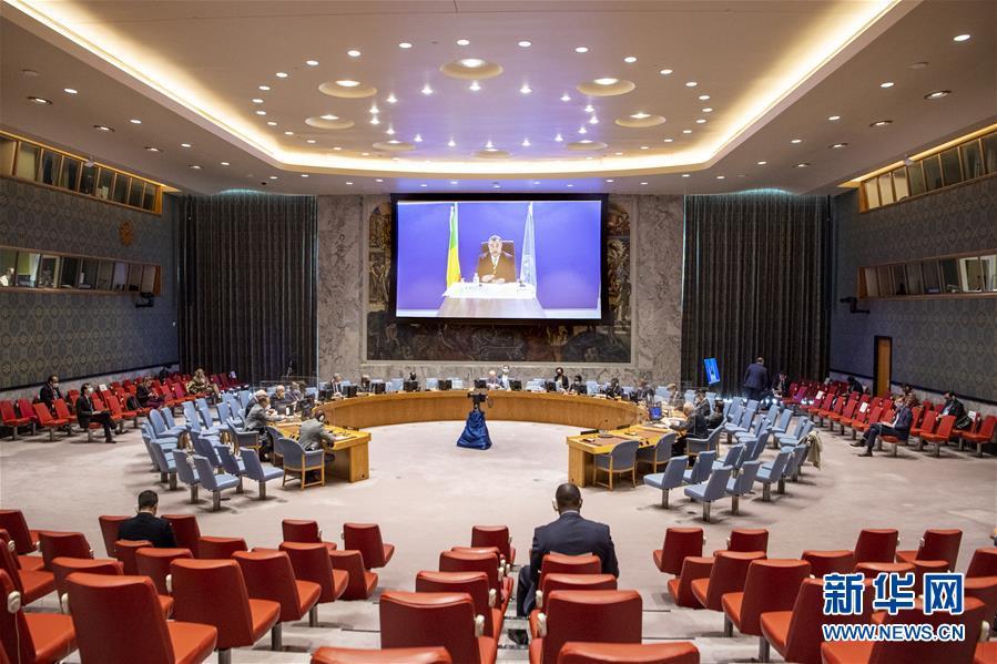 (国际)(1)联合国安理会重返原会厅举行会议