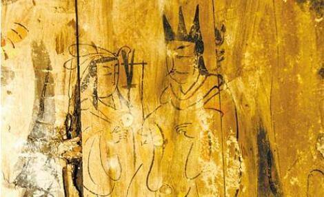 【博之美物】魏晋棺板画上的伏羲女娲图