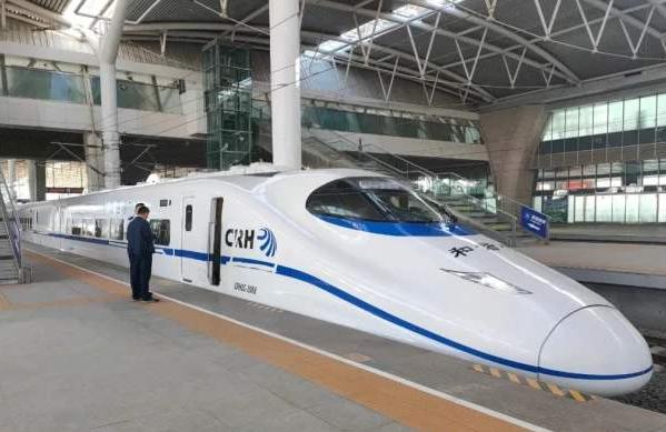 西银客专甘宁段庆城至宁县段时速275公里提速试验完成