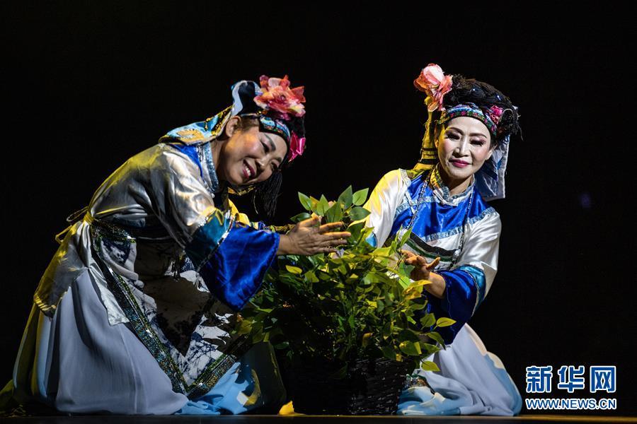 (文化)(2)民族歌舞剧《情醉毛尖》都匀上演