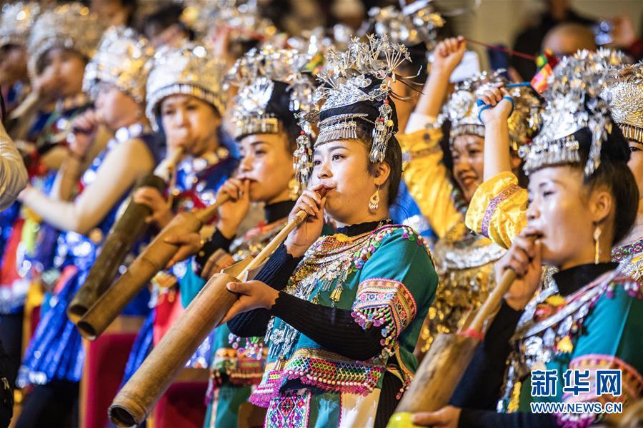 (文化)(5)民族歌舞剧《情醉毛尖》都匀上演