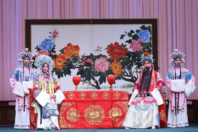 中国戏曲学院建校70周年教学成果展演启动 青春版《龙凤呈祥》上演