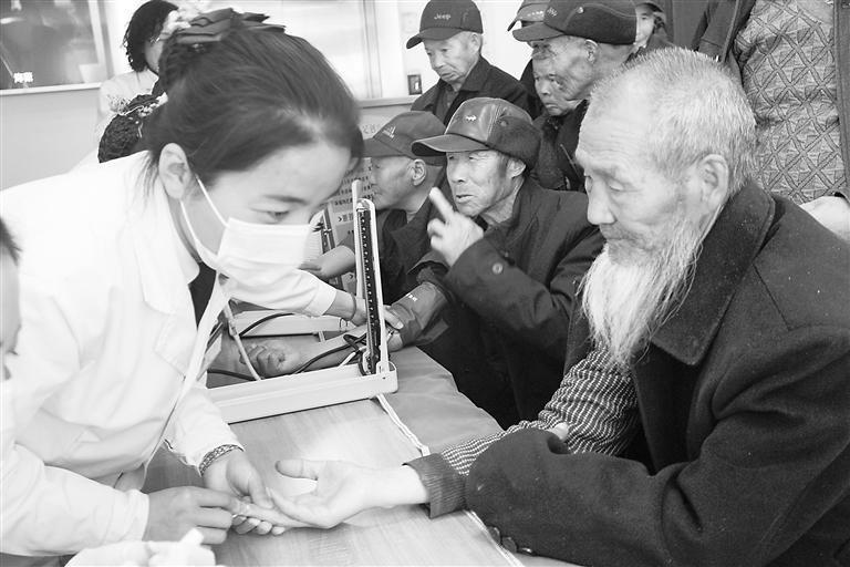 张掖爱心医院情暖临泽68位老人