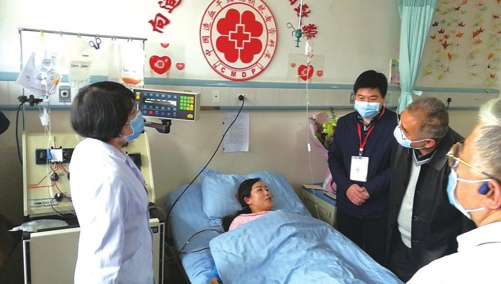 38岁药师成甘肃省第40例造血干细胞捐献者