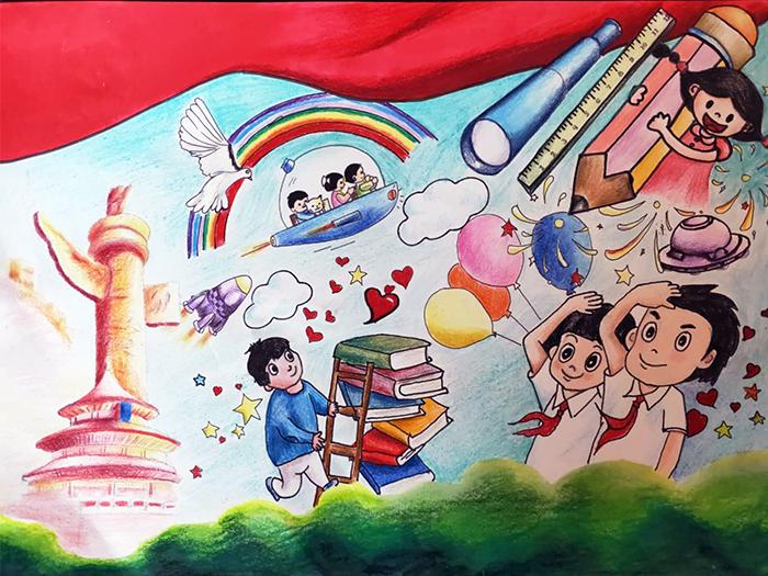 兰州市第三届青少年社会主义核心价值观主题动漫设计作品征集评选展示(漫画插画 九)