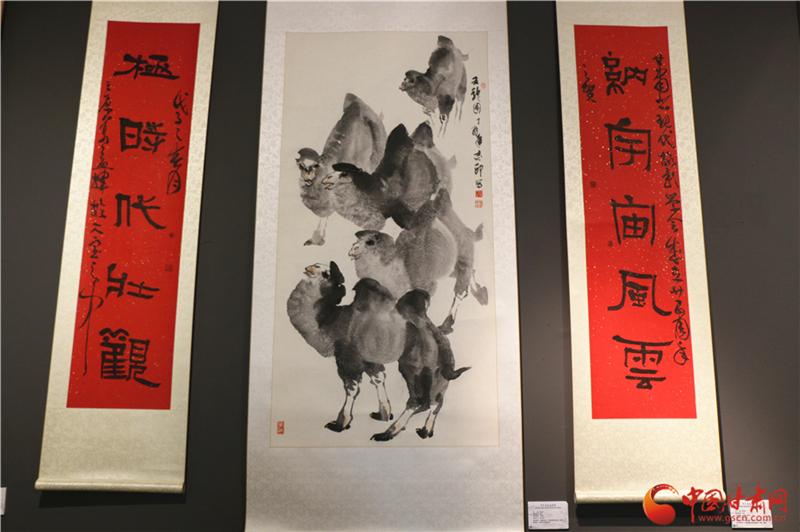 光色墨影相辉映——甘肃省现代摄影学会40年书画作品收藏展开展(图)