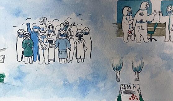 兰州市第三届青少年社会主义核心价值观主题动漫设计作品征集评选展示(漫画插画 十六)