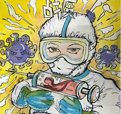 兰州市第三届青少年社会主义核心价值观主题动漫设计作品征集评选展示(漫画插画 十七)
