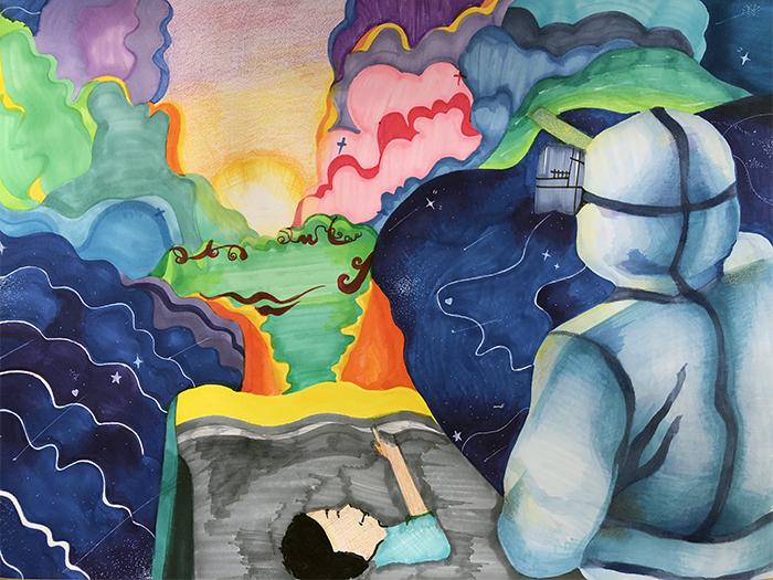 兰州市第三届青少年社会主义核心价值观主题动漫设计作品征集评选展示(漫画插画 十八)