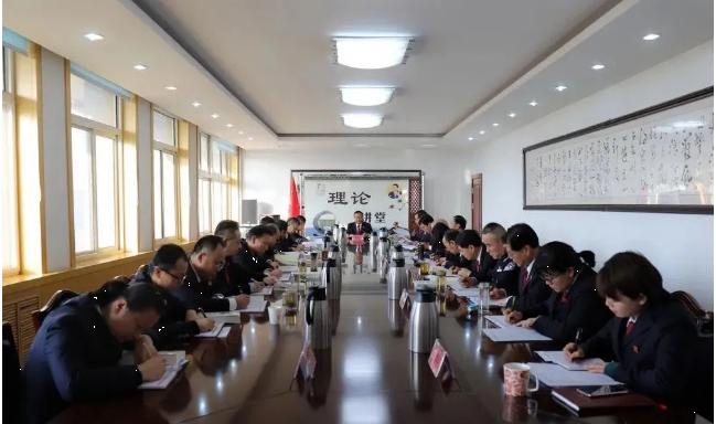 金昌市党员干部热议党的十九届五中全会精神