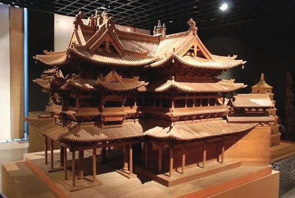 凝聚中华文化智慧 延续经典非遗传承 走进榆中古建筑模型制作技艺传习所