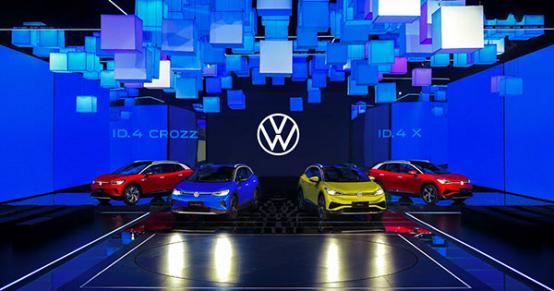新能源战略加速落地 大众汽车ID.4完成中国首发