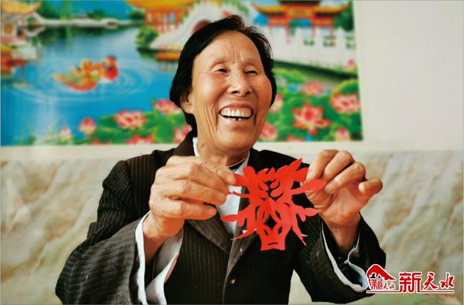 清水腰套村:脱贫之年晒幸福