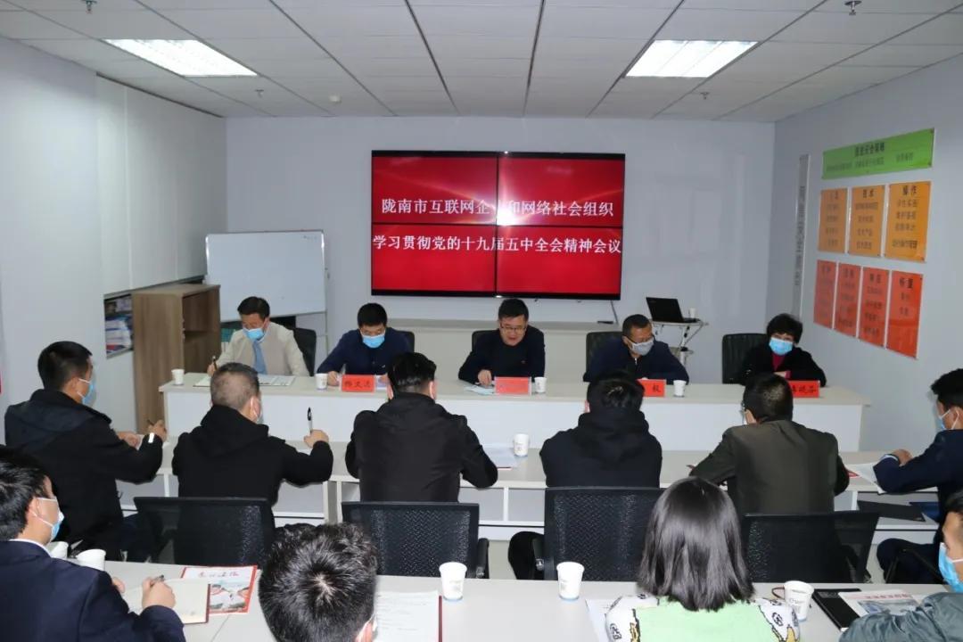 陇南市互联网企业和网络社会组织