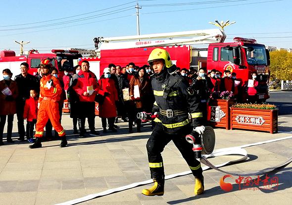 """民勤:2020年""""119消防宣传月""""活动启动"""