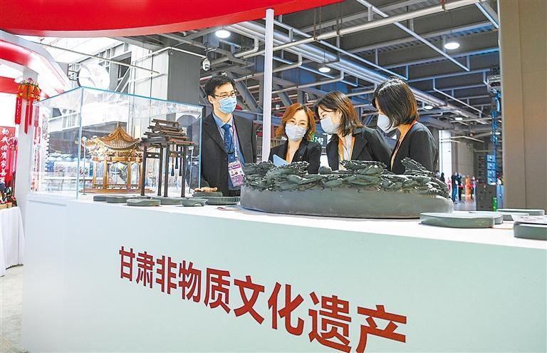 进博会 甘肃省27家企业与境外46家企业签订项目47个