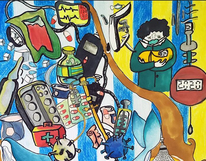兰州市第三届青少年社会主义核心价值观主题动漫设计作品征集评选展示(漫画插画 三十二)