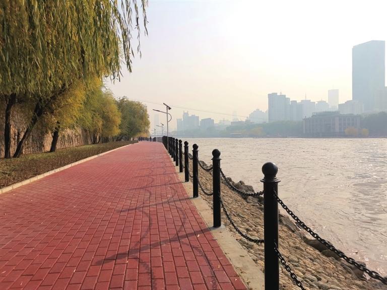 兰州市黄河河道健身步道工程通过验收