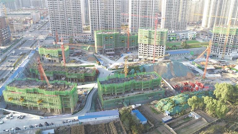 临夏市陇商三源安泊尔景苑棚户区改造项目占地78亩